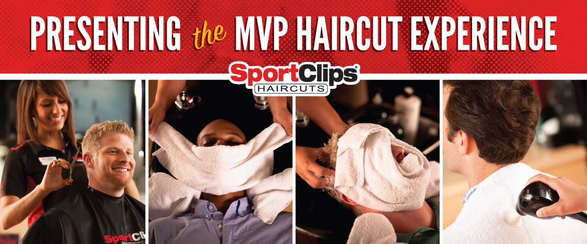 The Sport Clips Haircuts of Machesney Park MVP Haircut Experience